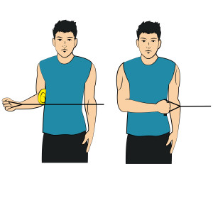 Arm To Side - External Rotation With Band - Right Arm
